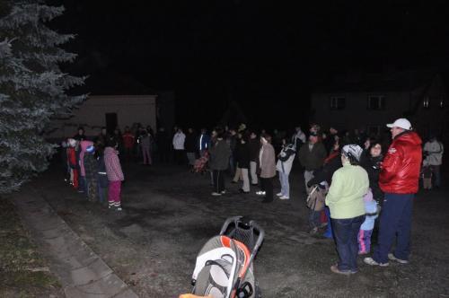 Rozsvícení vánočního stromku 2011
