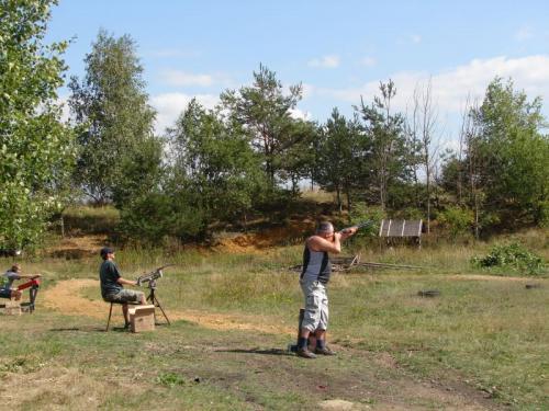 Střelby - zprůběhu soutěže