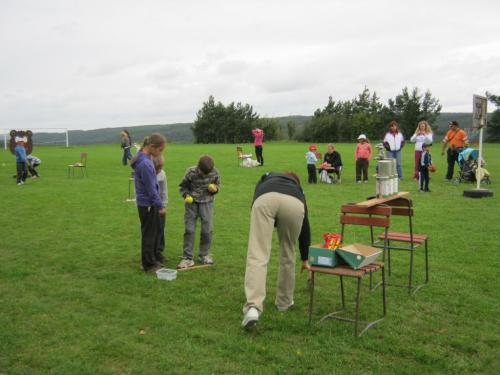 Sportovní den pro děti 27.8.2011